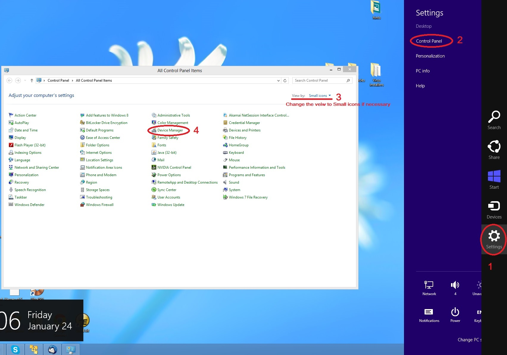 windows 8.1 network driver problem