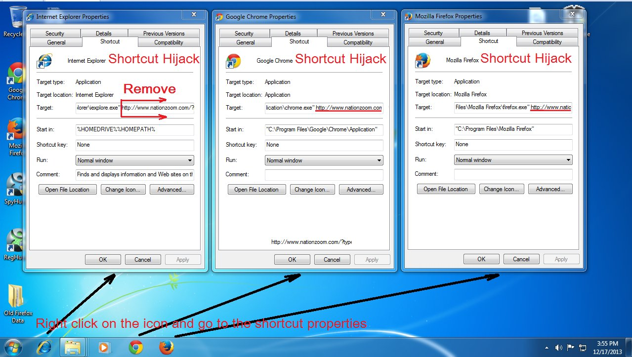 how to clean shortcut virus from laptop