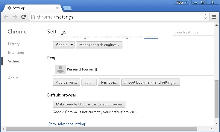 stop add ons chrome