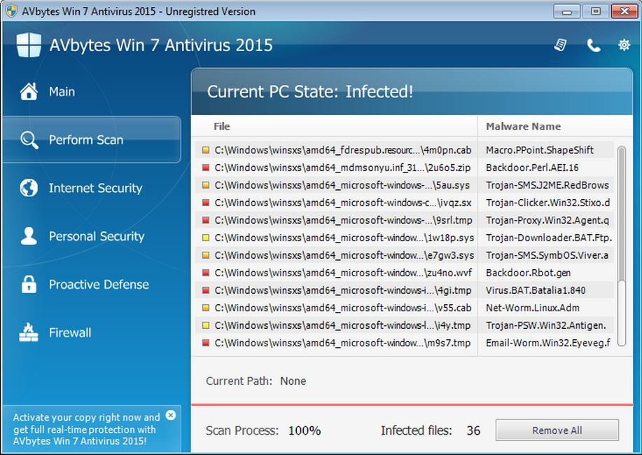 microsoft windows 7 antivirus free
