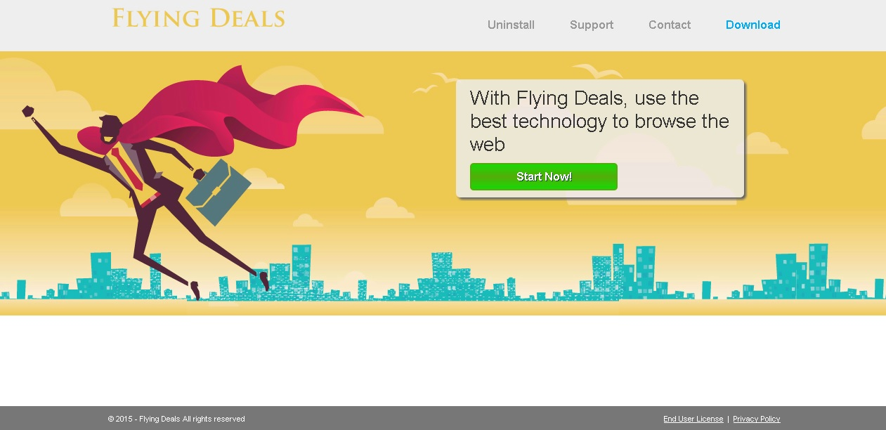 flying deals ads remove