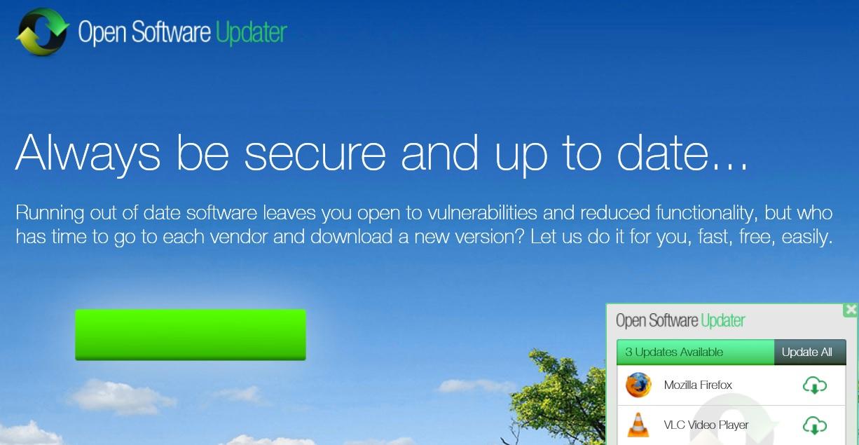 remove opensoftwareupdater.com