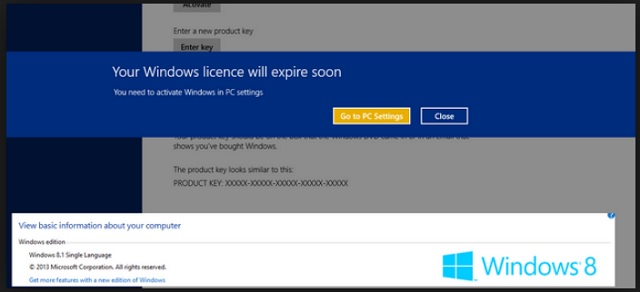 Your windows license has expired, please call – SCAM | Updated