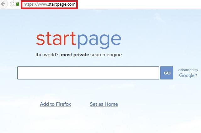 remove startpage com homepage hijacker