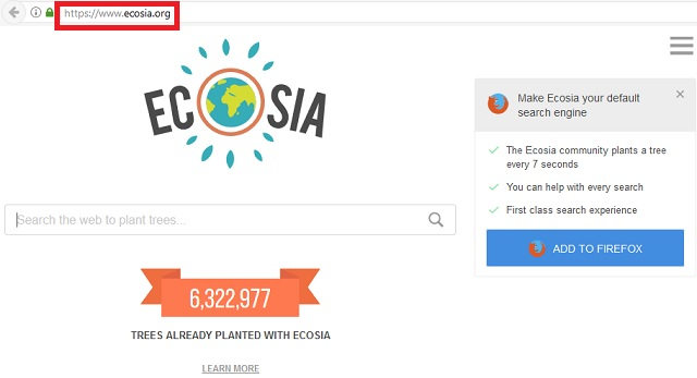 ecosia chrome
