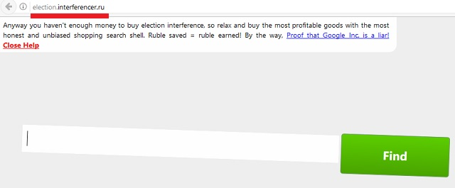 Remove Election.interferencer.ru