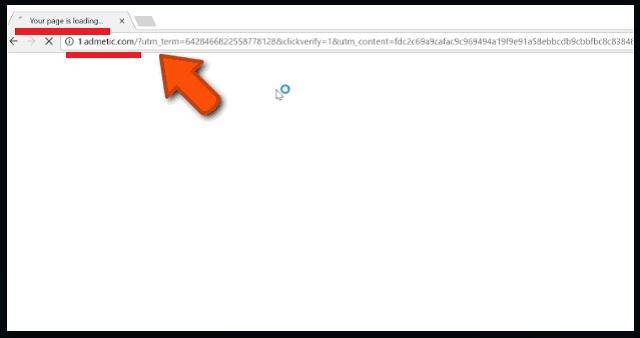 Remove 1.admetic.com