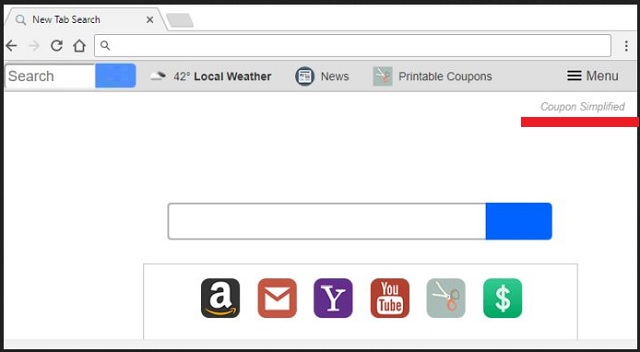Remove Coupon Simplified New Tab Redirect Updated