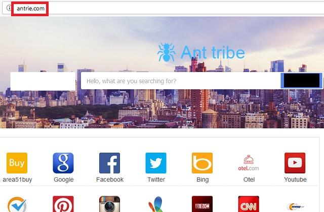 Remove Antrie.com