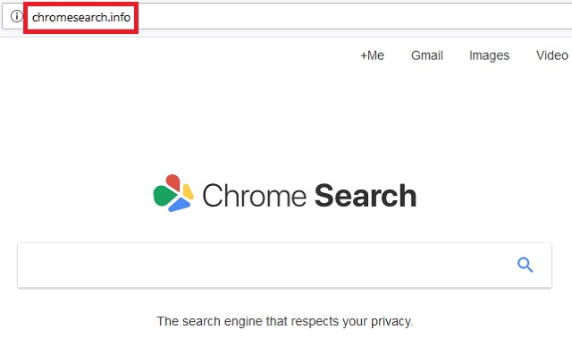 Remove ChromeSearch.info