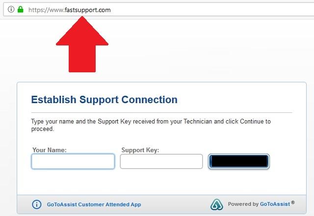Remove Fastsupport.com