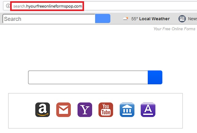 Remove Search.hyourfreeonlineformspop.com