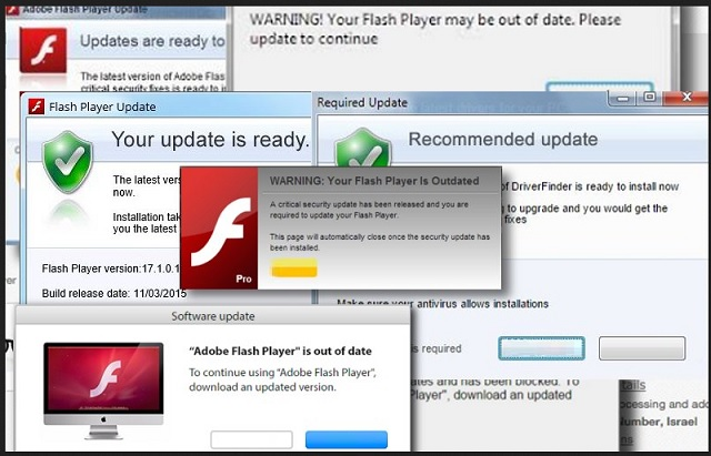 how to get rid of adobe flash player update virus