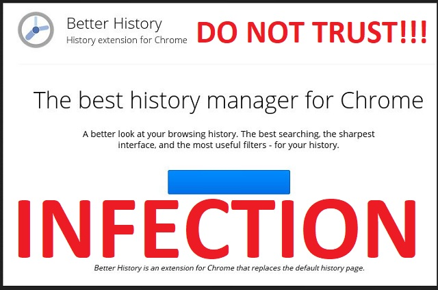 Better History Chrome Extension Virus Removal | Updated