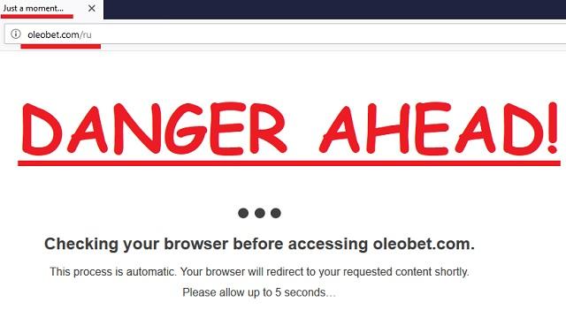 Remove Oleobet.com/ru