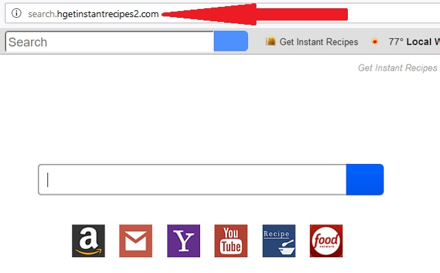 Remove  Search.hgetinstantrecipes2.com