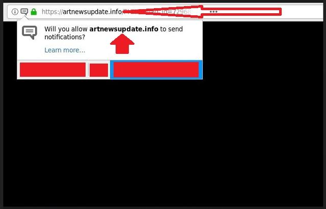 Remove Artnewsupdate.info