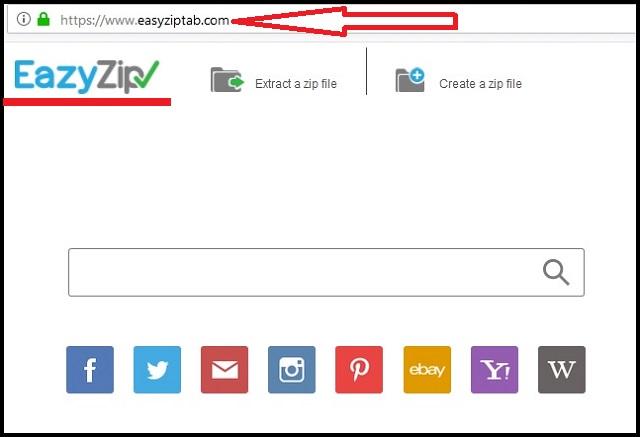 Remove EasyZipTab.com