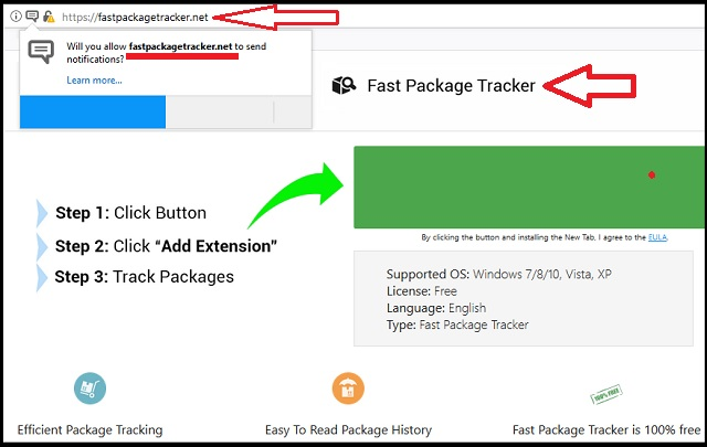 Fastpackagetracker Pop Up Ads Removal