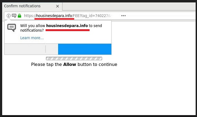 Remove Housinesdepara.info