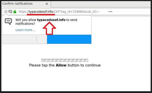 Remove Typacodosof.info