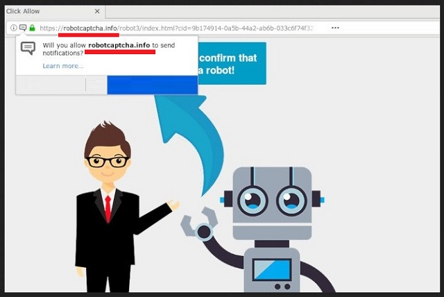 Remove Robotcaptcha.info