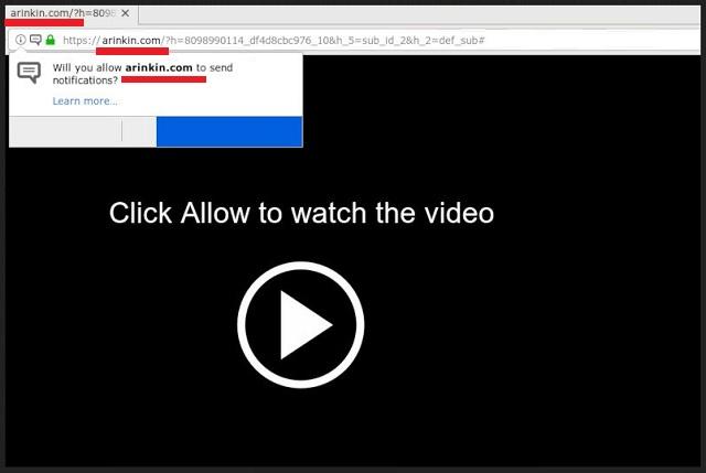 Remove Arinkin.com