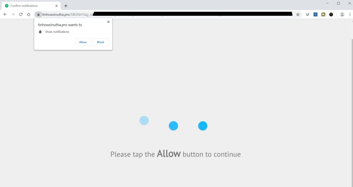 remove tinhowsinutha.pro redirect