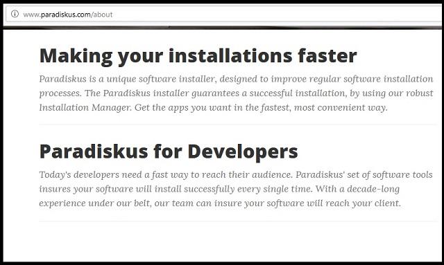 Remove Paradiskus.com